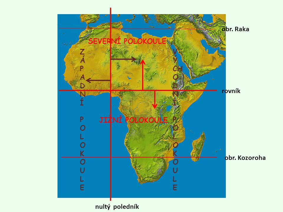 Afrika Poloha Ppt Stahnout