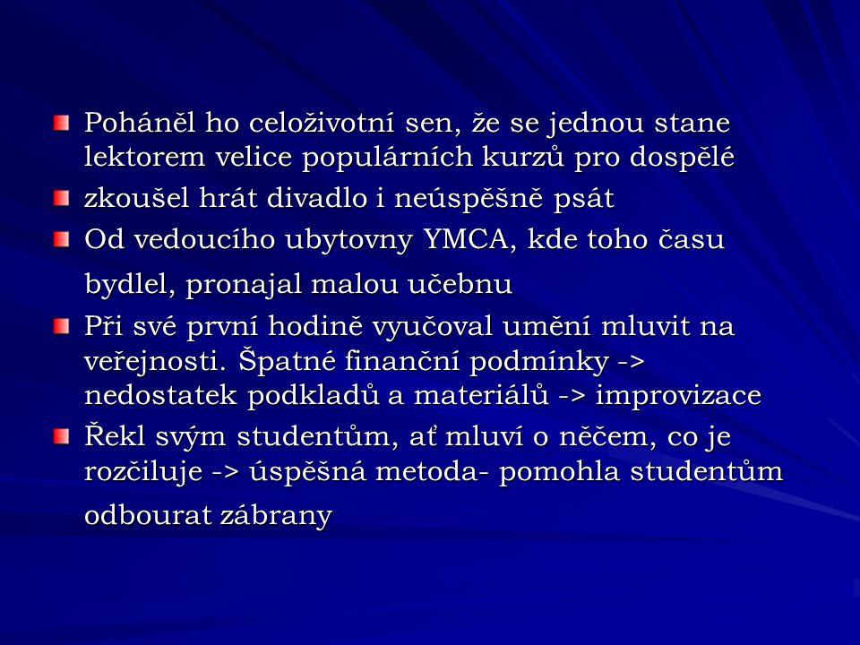 Dale Carnegie Zivotopis Ppt Stahnout