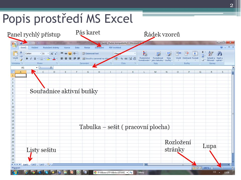 Excel Zasady Ing Bohumil Bares Ppt Stahnout