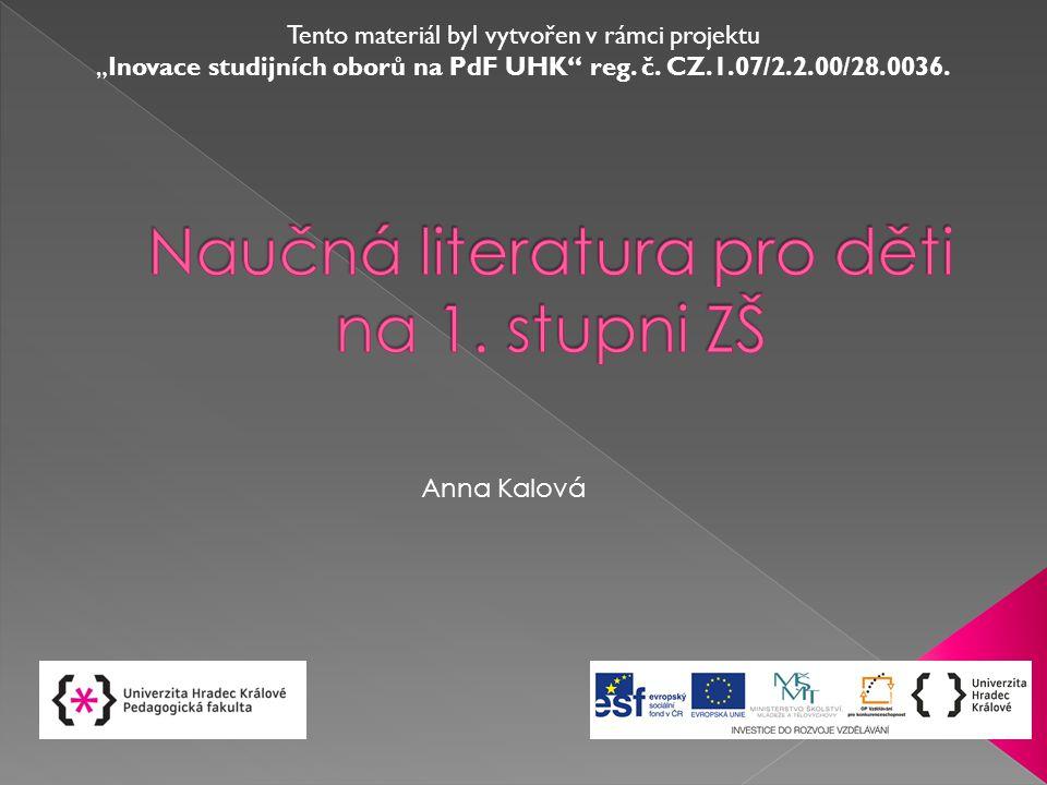 Naučná literatura pro děti na 1. stupni ZŠ - ppt stáhnout d8b14d19f9