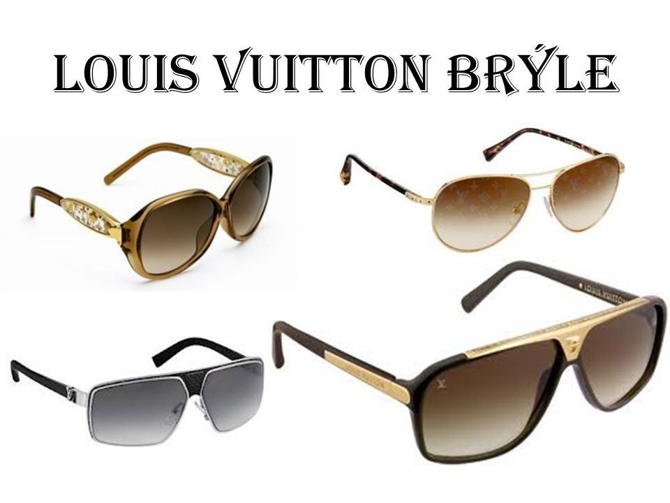 Louis vuitton brýle