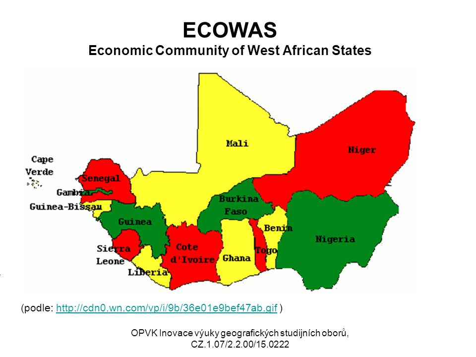 ECOWAS Economic Community of West African States