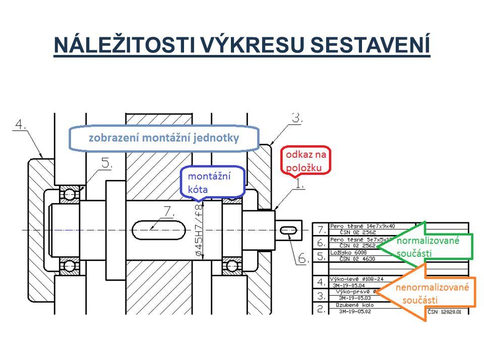Strojirenstvi Sestavne Vykresy St14 Technicke Kresleni Ppt Stahnout