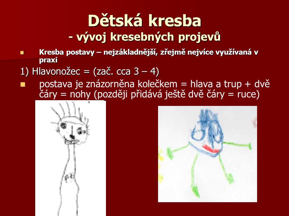 Detska Kresba Vyvoj Kresebnych Projevu Ppt Stahnout