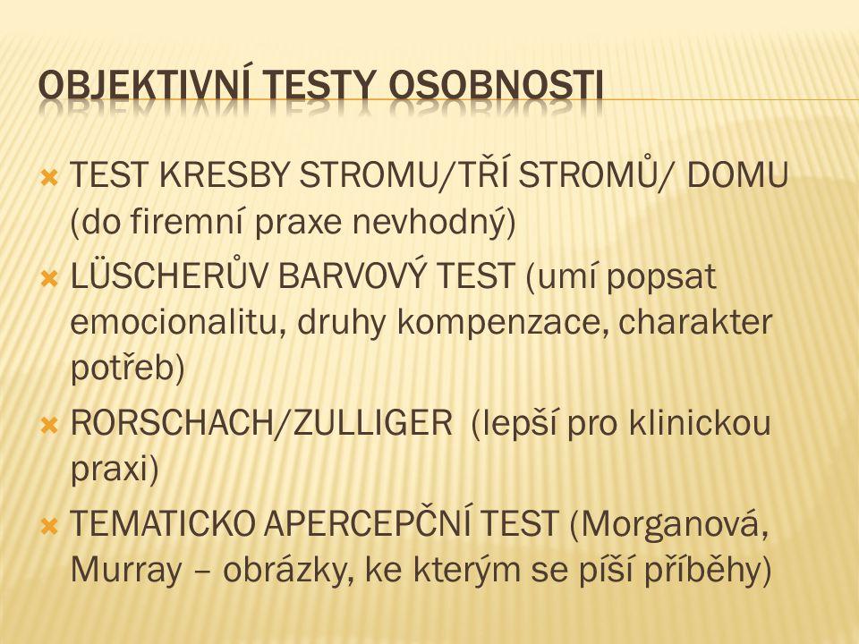 Psychodiagnostika V Organizacich Ladislav Koubek Ppt Stahnout