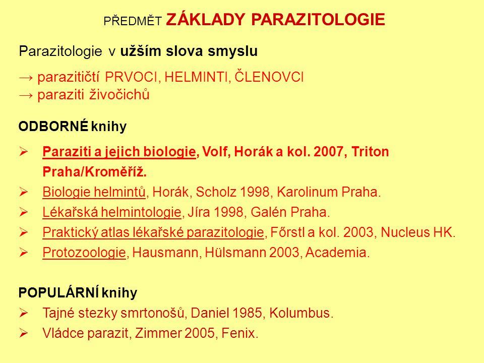 paraziti a jejich biologie instrumente pentru tratarea helmintiazei la om